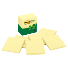 Post it Greener Notes 100percent Recycled