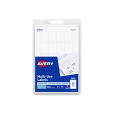Avery Removable InkjetLaser Multipurpose Labels 5428