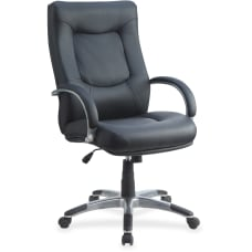 Lorell Stonebridge Executive Bonded Leather High