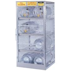 Justrite Cylinder Storage Locker 8 Cylinders