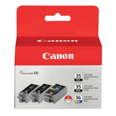 Canon PGI 35CLI 36 BlackMulticolor Ink