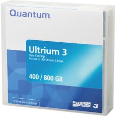 Quantum LTO Ultrium 3 Data Cartridge