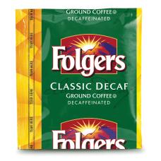 Folgers Classic Roast Decaffeinated Coffee Packs