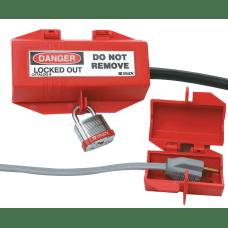 Plug Lockouts 110V Red