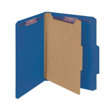Smead Classification Folders Pressboard With SafeSHIELD