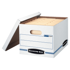 Bankers Box StorFile Boxes With Lift