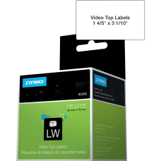DYMO LabelWriter Video Spine Labels DYM30326