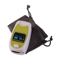 HealthSmart Deluxe Fingertip Pulse Oximeter Green