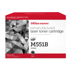 Office Depot Brand ODM551B Remanufactured Black
