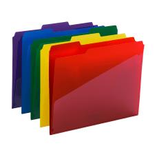 Smead Poly Folders With Slash Pocket