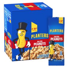 Planters Nut Pouches Salted Peanuts 175