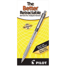 Pilot Better Retractable Ballpoint Pens Fine
