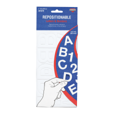 Creative Start Self Adhesive Repositionable Letters