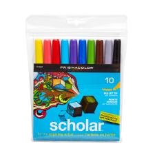 Prismacolor Scholar Art Markers Bullet Tip