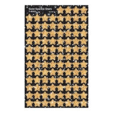 TREND superShapes Sticker Pack Gold Sparkle
