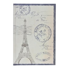 Eccolo Big BenEiffel Tower Journal Assorted
