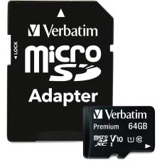 Verbatim Premium UHS I Class 10