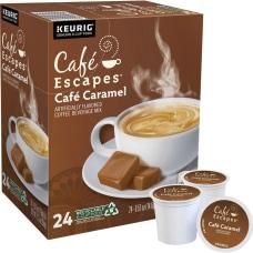 Cafe Escapes Cafe Caramel Coffee Single