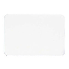 Maco Name Badges Plain White Pack