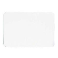 Maco Name Badges Plain White Pack