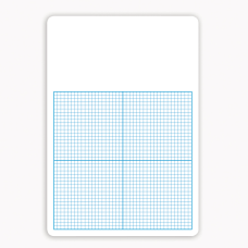 Flipside 14 Graph Dry Erase Boards