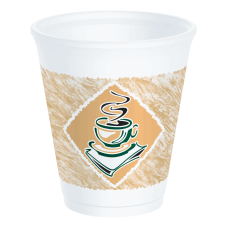 Dart Cafe G Design Foam Cups