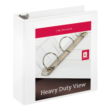 INPLACE Heavy Duty Nonstick View Binder
