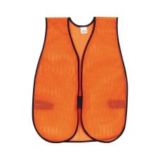 MCR Safety Polyester Mesh Safety Vest