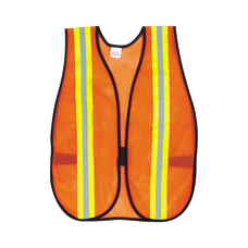 MCR Safety Polyester Safety Vest One