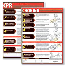 ComplyRight CPR And Choking Poster Bundle
