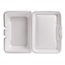 Genpak Foam Hinged Carryout Containers Deep