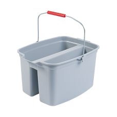 Rubbermaid Brute Double Utility Pail 17