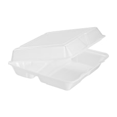 Dart Carryout Food Containers Foam Hinged