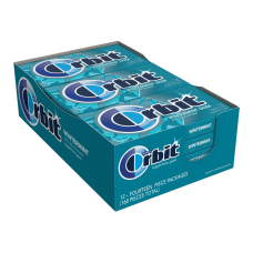 Orbit Sugar Free Gum Wintermint 14