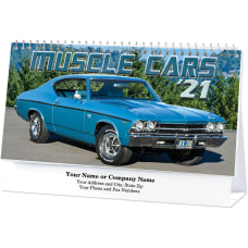 Muscle Cars Desk Calendar