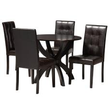 Baxton Studio Elira Dining Set 29