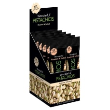 Wonderful Pistachios Roasted And Salted 125