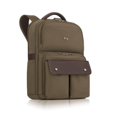 Solo Executive Polyester Backpack For 156
