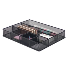 Brenton Studio Black Mesh Large Drawer