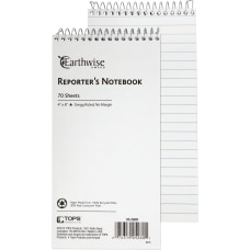 Ampad Earthwise Reporters Notebook 70 Sheets