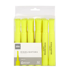 Office Depot Chisel Tip Highlighters 100percent