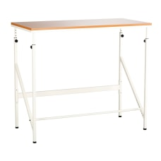 Safco Elevate LaminateSteel Standing Height Desk