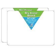 Flipside Non Magnetic Unframed Dry Erase