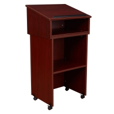 Oklahoma Sound Table TopFull Floor Lectern