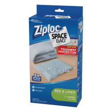 Ziploc Space Bags Jumbo Clear Pack