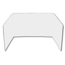 Flipside Cardboard Privacy Shields White Pack