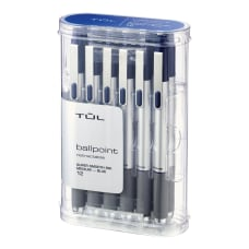 TUL BP3 Retractable Ballpoint Pens Medium