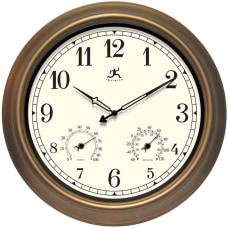 Infinity Instruments Round Wall Clock 18