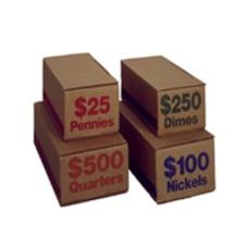 PM Company Coin Boxes Pennies 2500