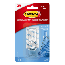 Command Crystal Hook 3 18 H